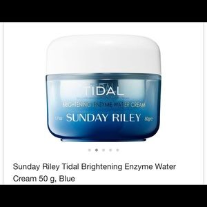 Tidal Sunday Riley cream